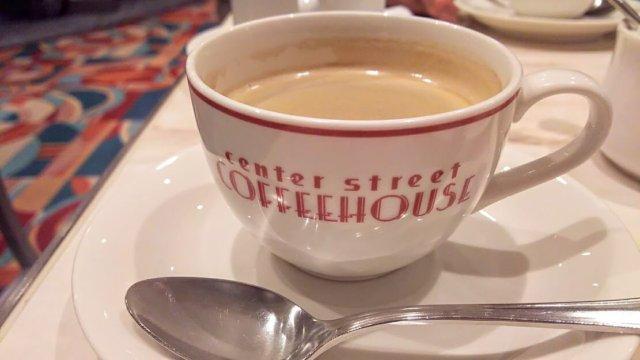 センターストリート・コーヒーハウス。洋食とお茶が気軽にできる!