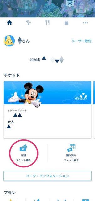 表示 されない アプリ チケット 購入 済み ディズニー