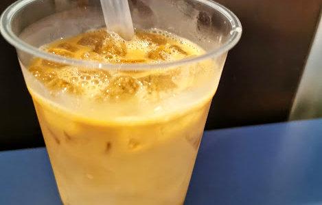 甘い?苦い?タピオカドリンクのミルクコーヒー味