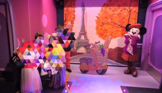 ミニーのスタイルスタジオ。かわいさ溢れるミニーちゃんの会社で撮影